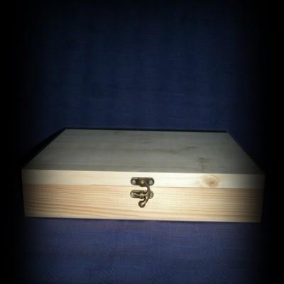 cutie lemn natur