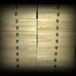 cutii lemn natur