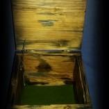 cutie lemn invechit